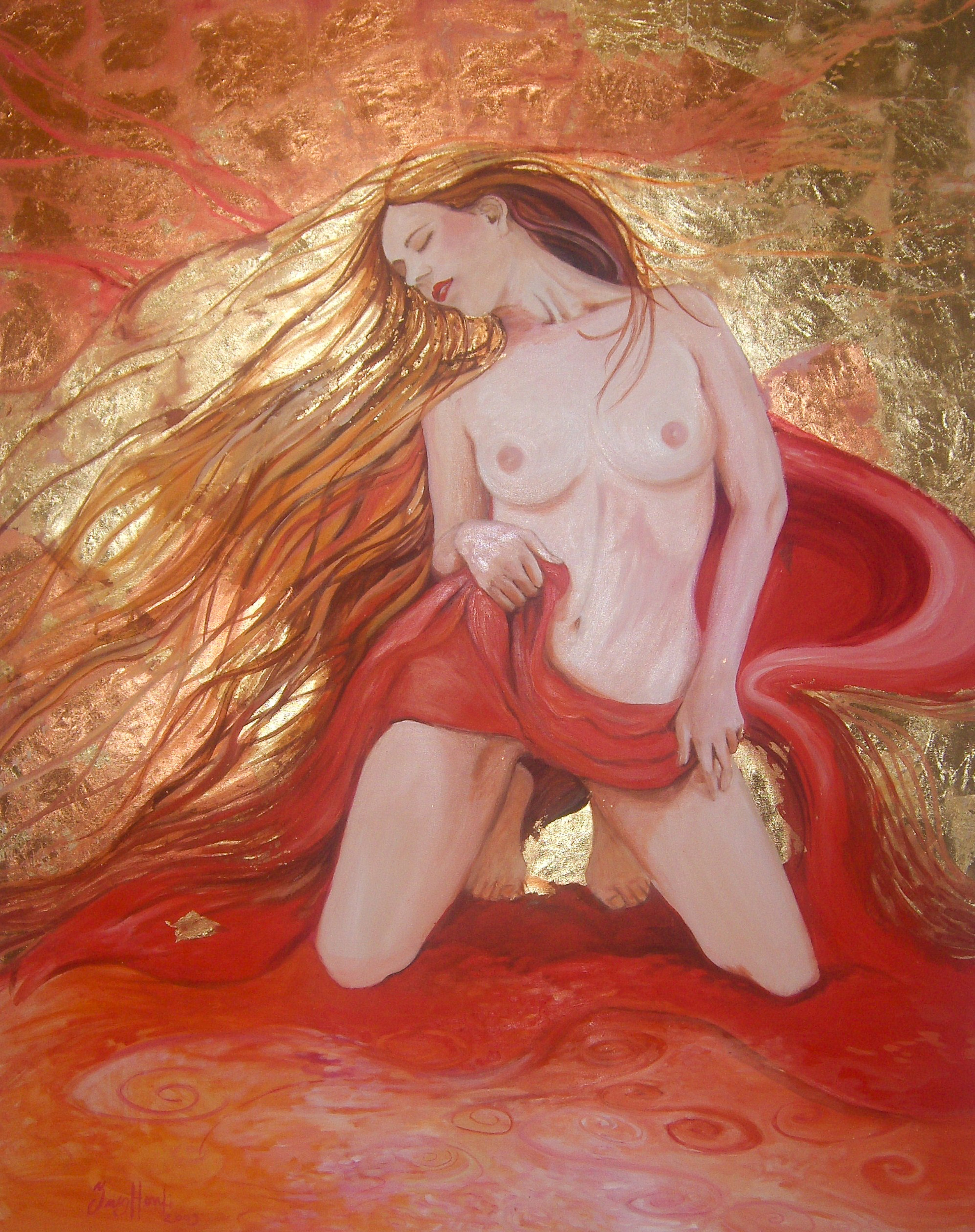 Passion III. 120x150 cm oil on canvas by Ines Honfi.jpg