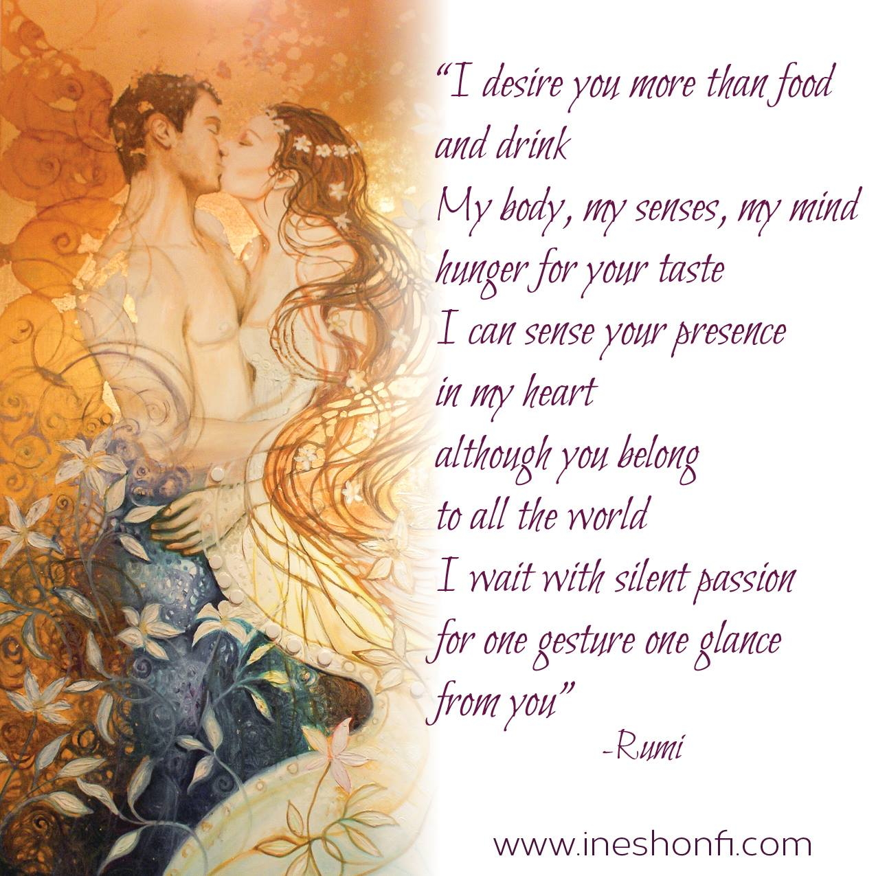 love poem by Rumi