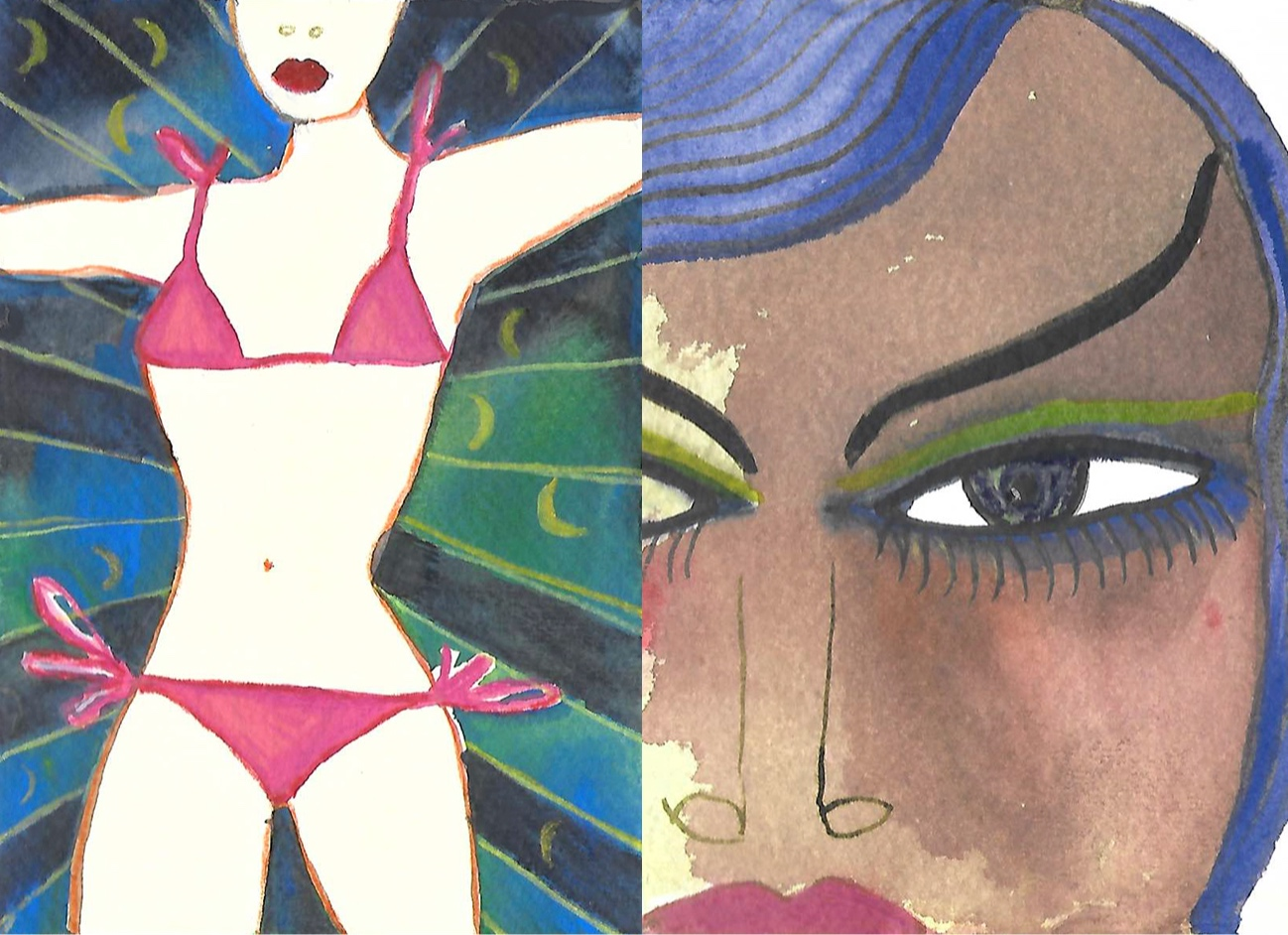 bikini + Palomija