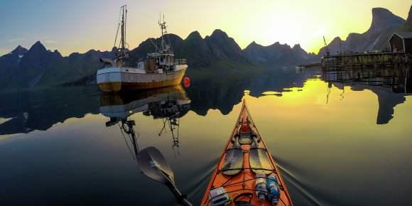 Sea Kayaking - Explore Lofoten from your own Kayak