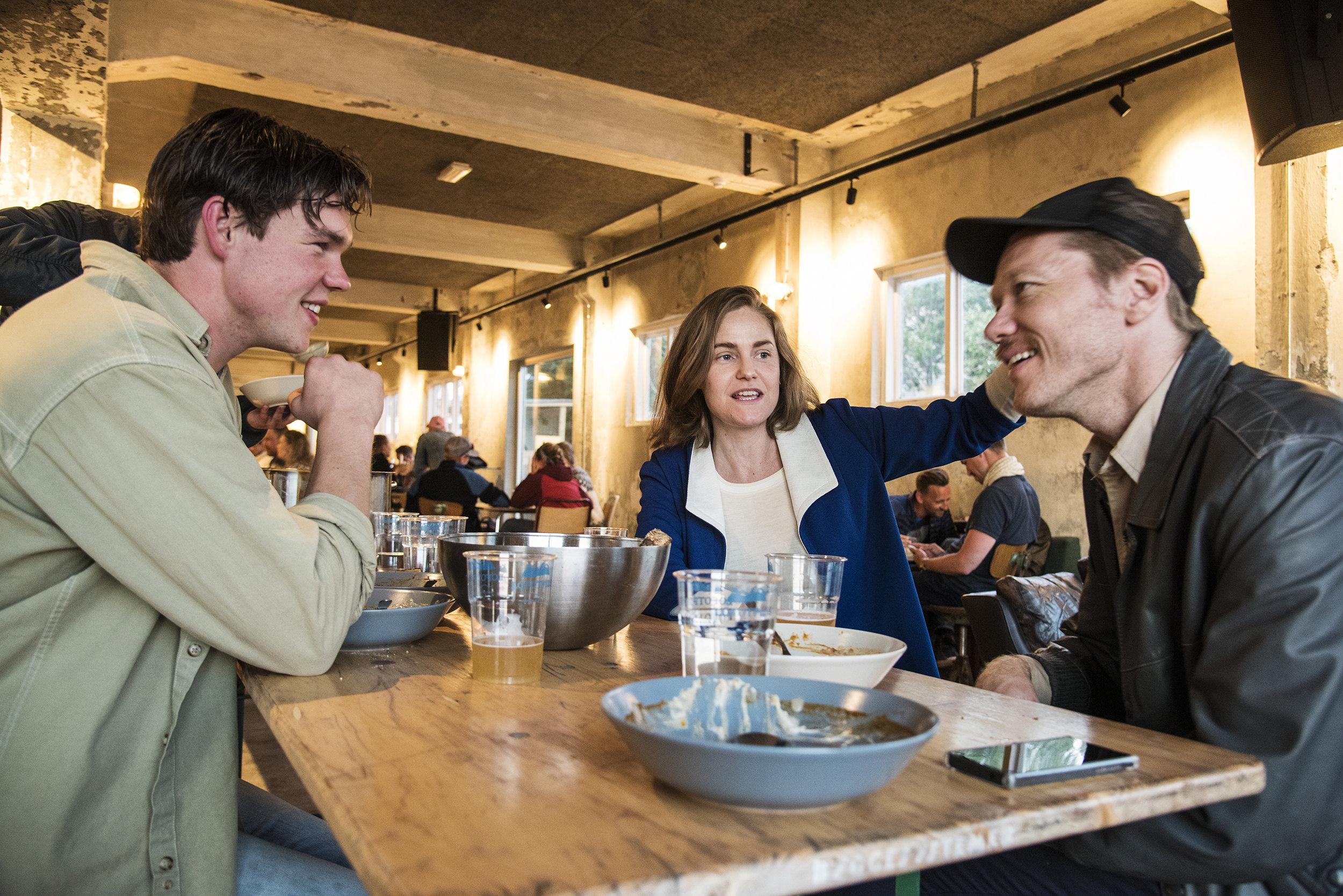 Dining in Lofoten -