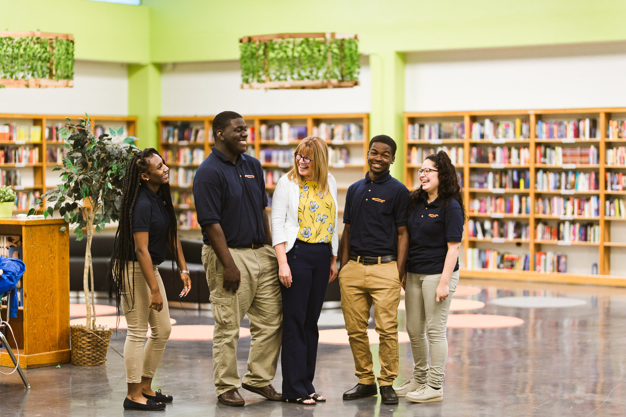 Take a Tour - Visit our two thriving libraries or a library in progress to see how you can help. Our libraries are always open to the family and communities that help our students thrive.