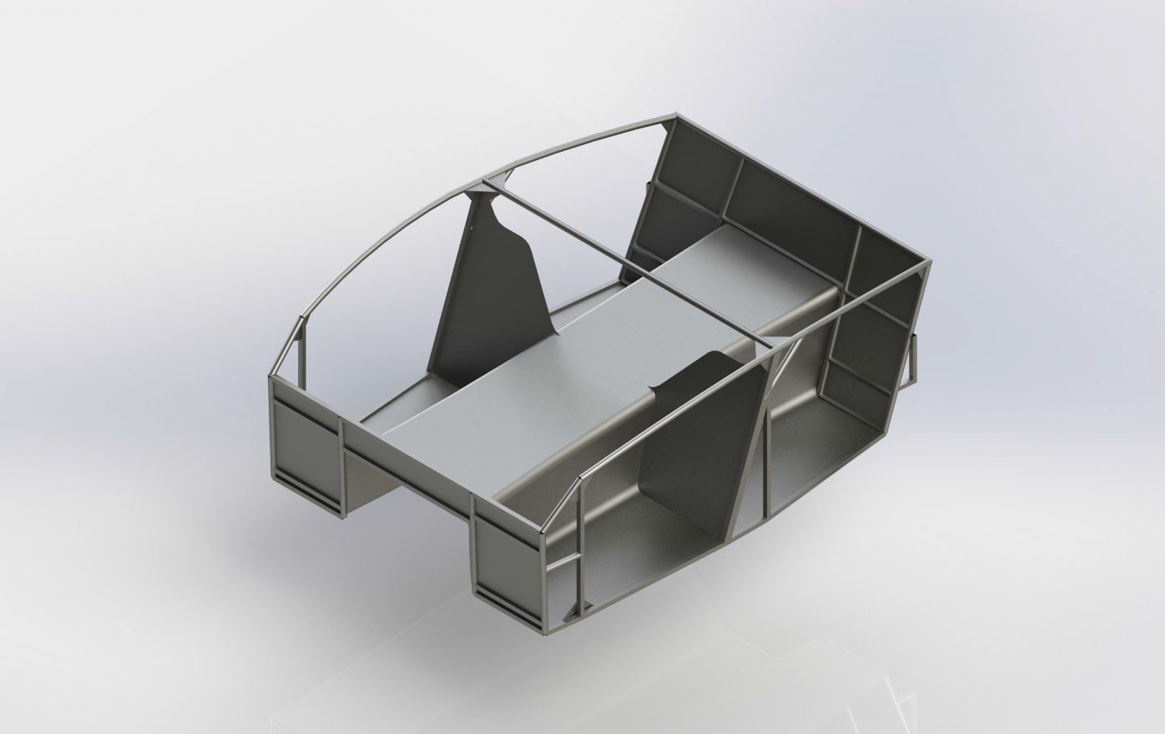 SolidWorks Chassis model