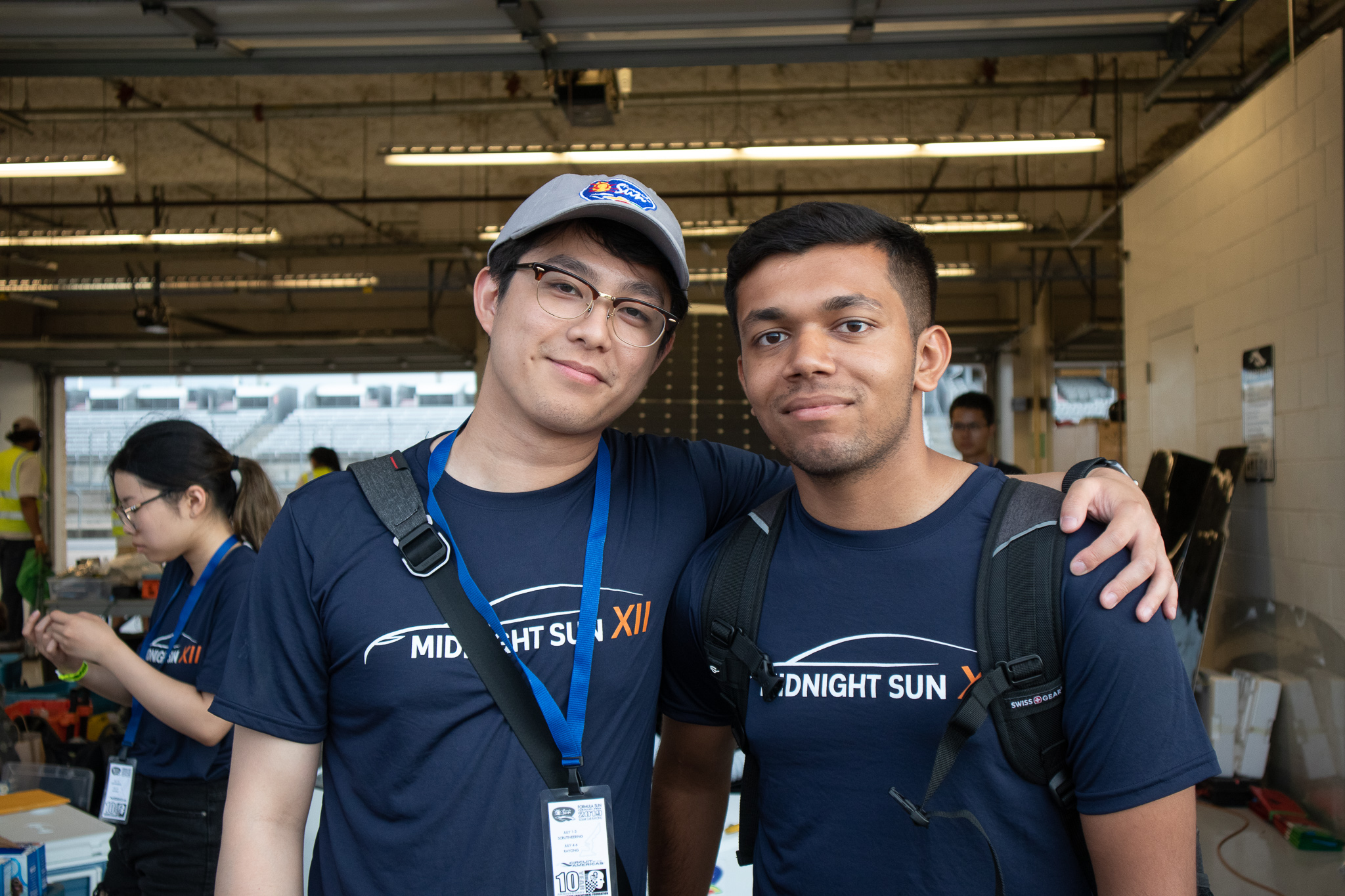 Kevin Bui (Left), Shalin Patel (Right)