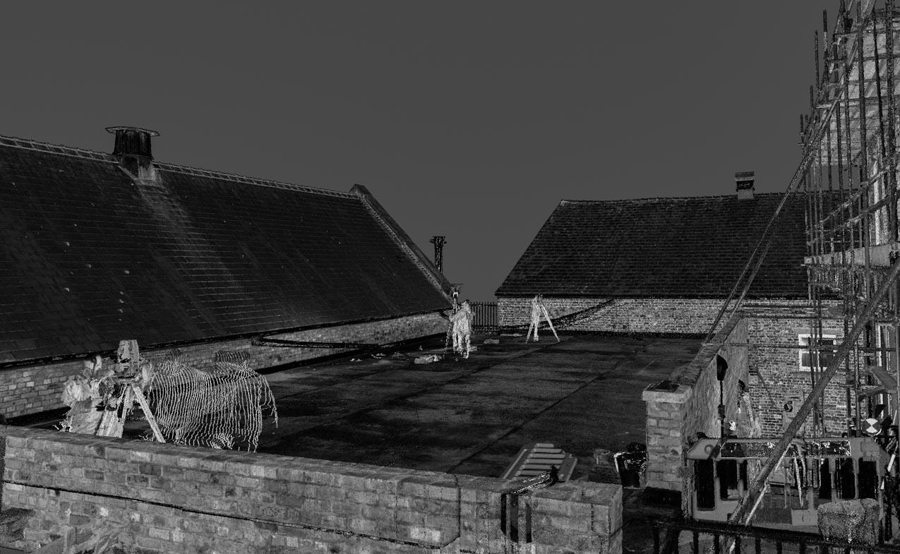 Rooftop survey (c) TriCAD Solutions Ltd