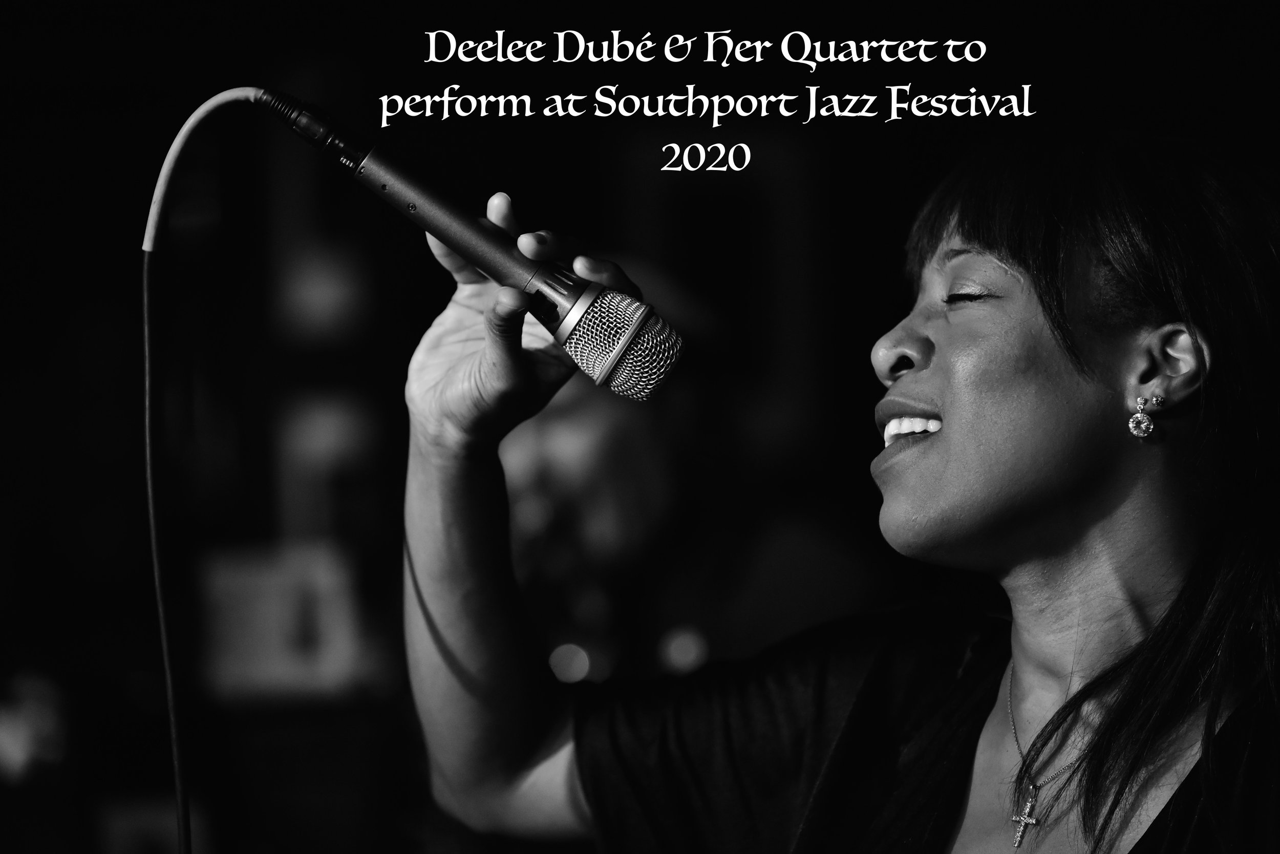 Deelee Dubé & Her Quartet to perform at Southport Jazz Festival 2020