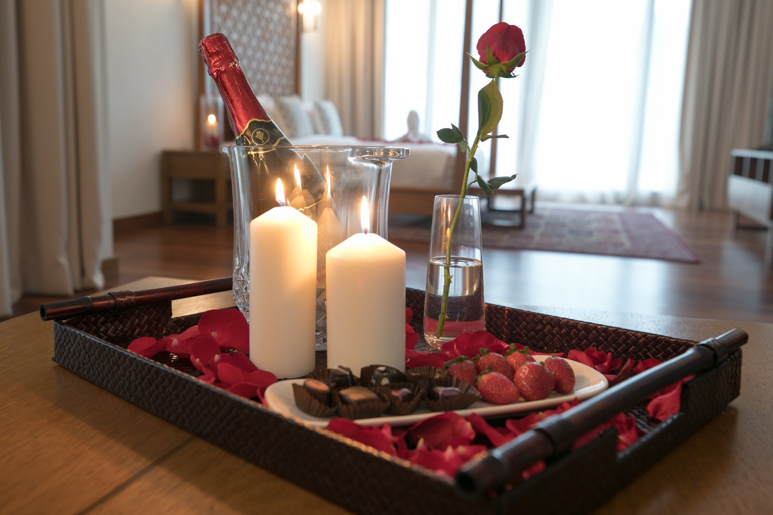 Chocs and roses - bedroom view.jpg