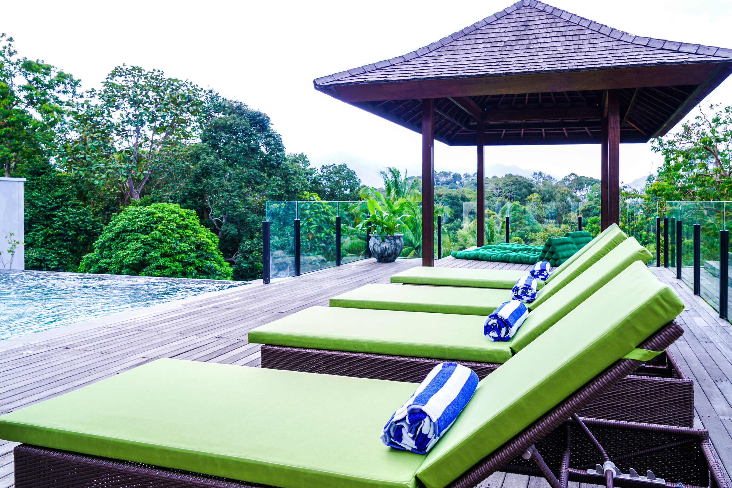 - Looking out from the inviting infinity pool or expansive deck, Villa Selasih has one of the most breathtaking views of the rain forest. On any given day, you might just catch sight of the wildlife who's homes are in the jungles of Janda Baik. Such is the view we even have a room we call 'The Inspiration Room'.