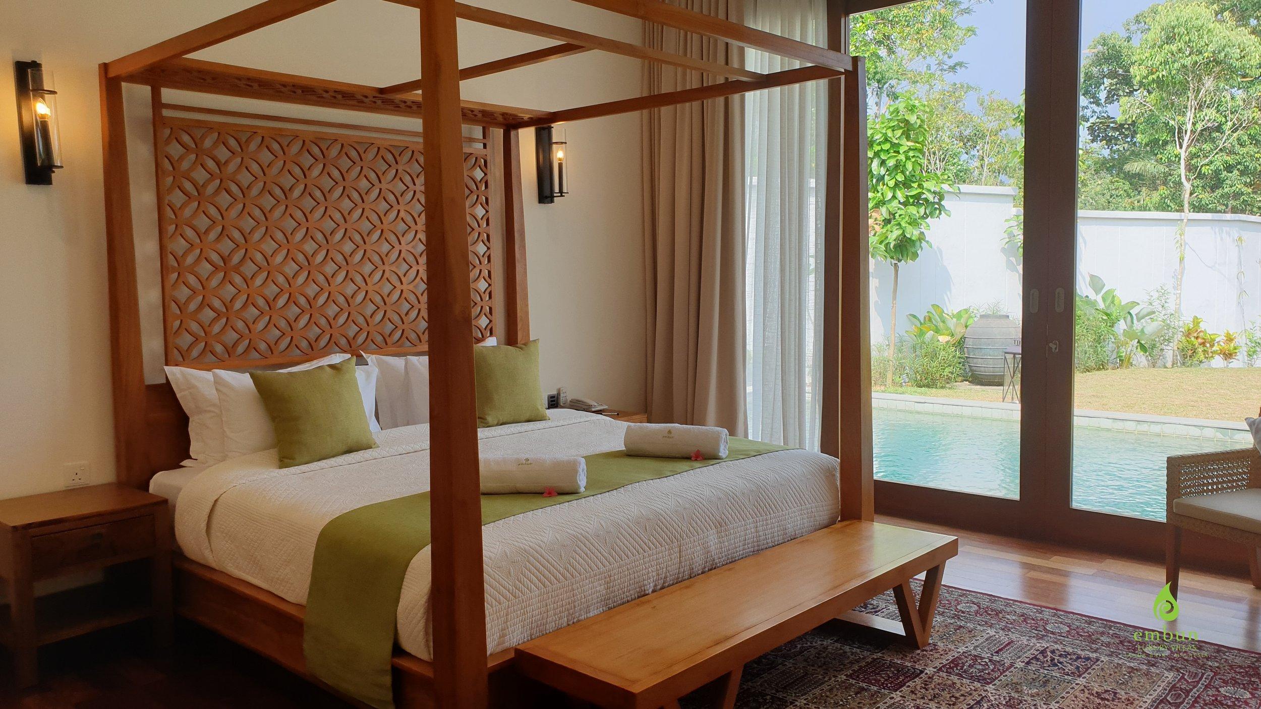 Master Bedroom @ Villa Ulam Raja -