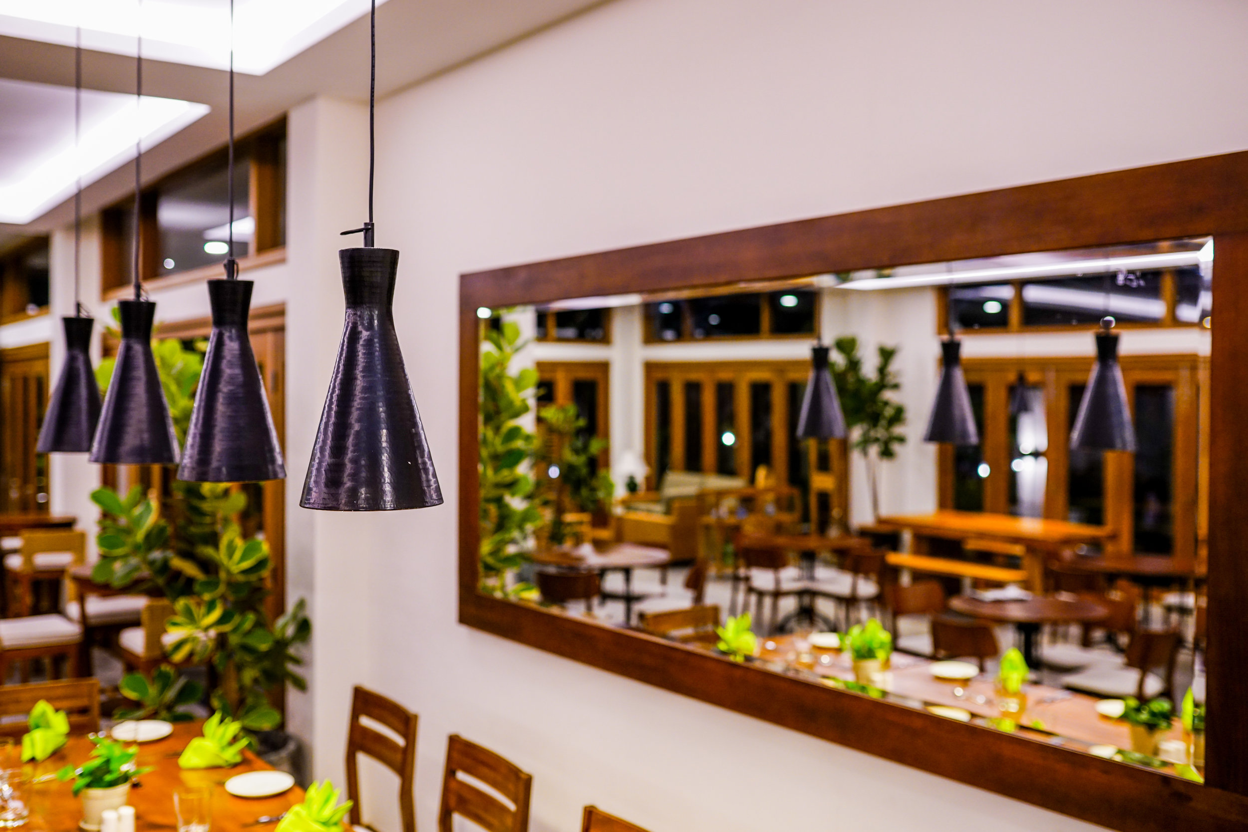 dining table reflection with hanging lamps.jpg