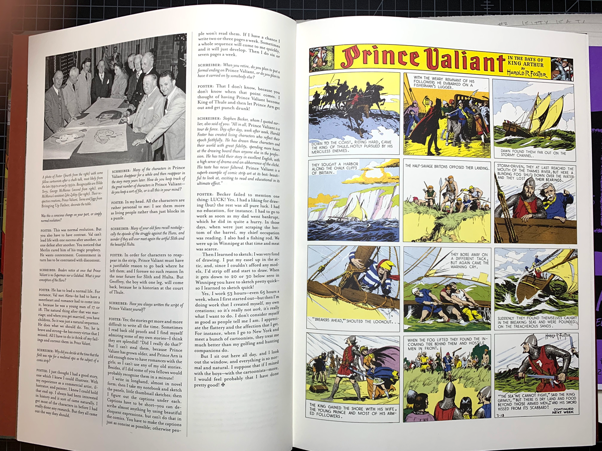 Volume 1 of Prince Valiant by Hal Foster