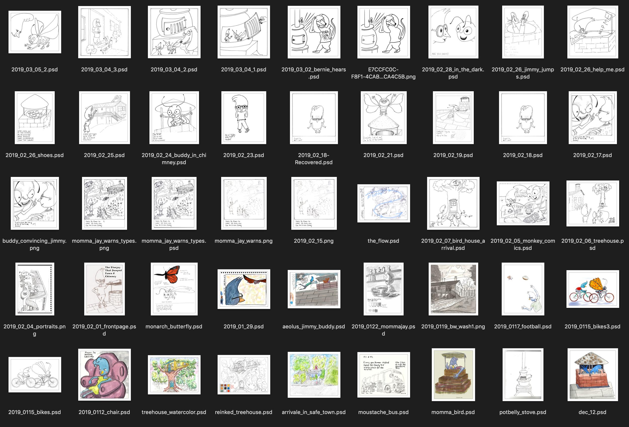 thumbnails, book images, children's book