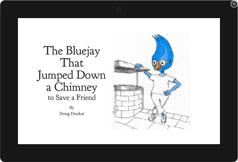 Kindle Create, inDesign, Front page preview, children's book