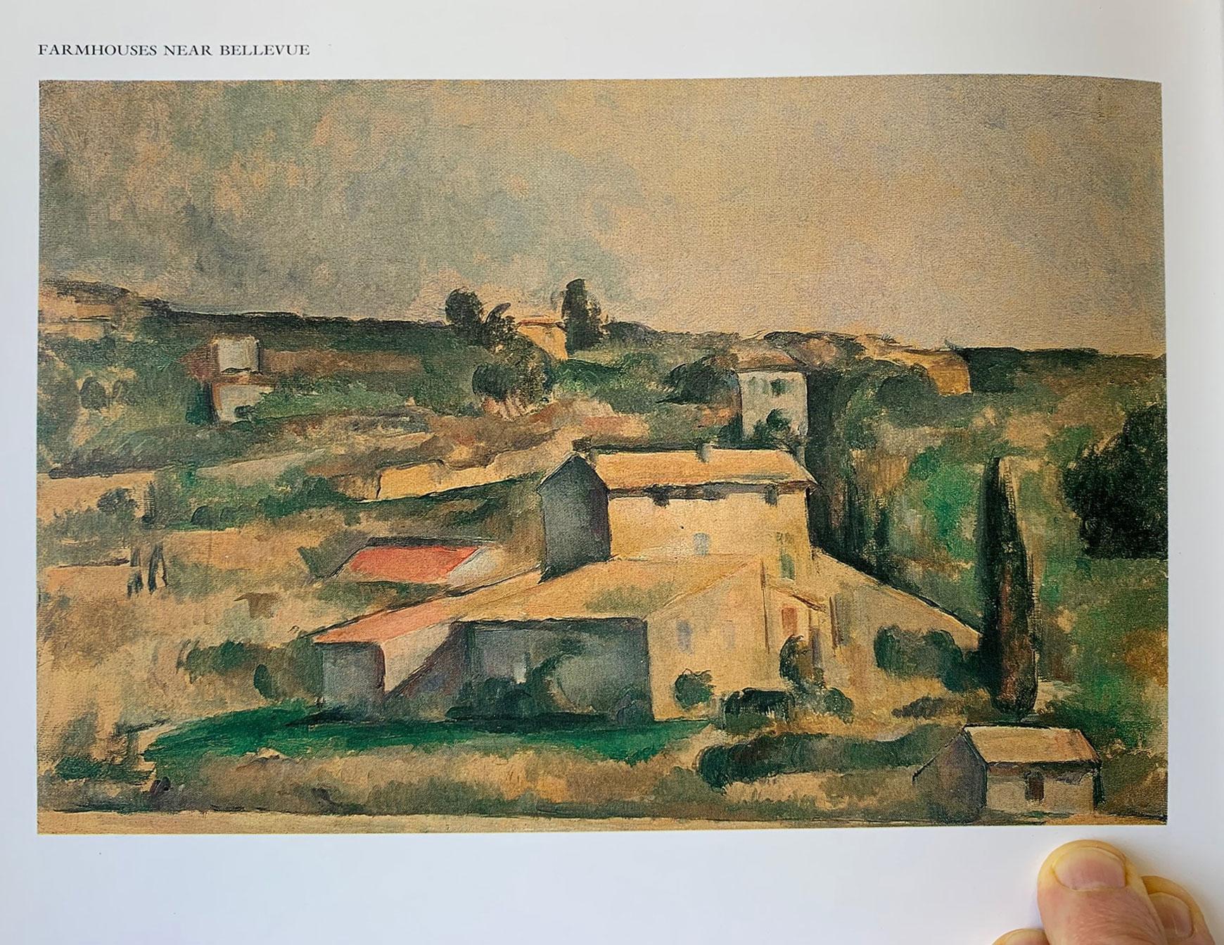 Farmhouses near Bellevue, Paul Cézanne