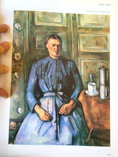 Cézanne's Woman with a Coffee Pot