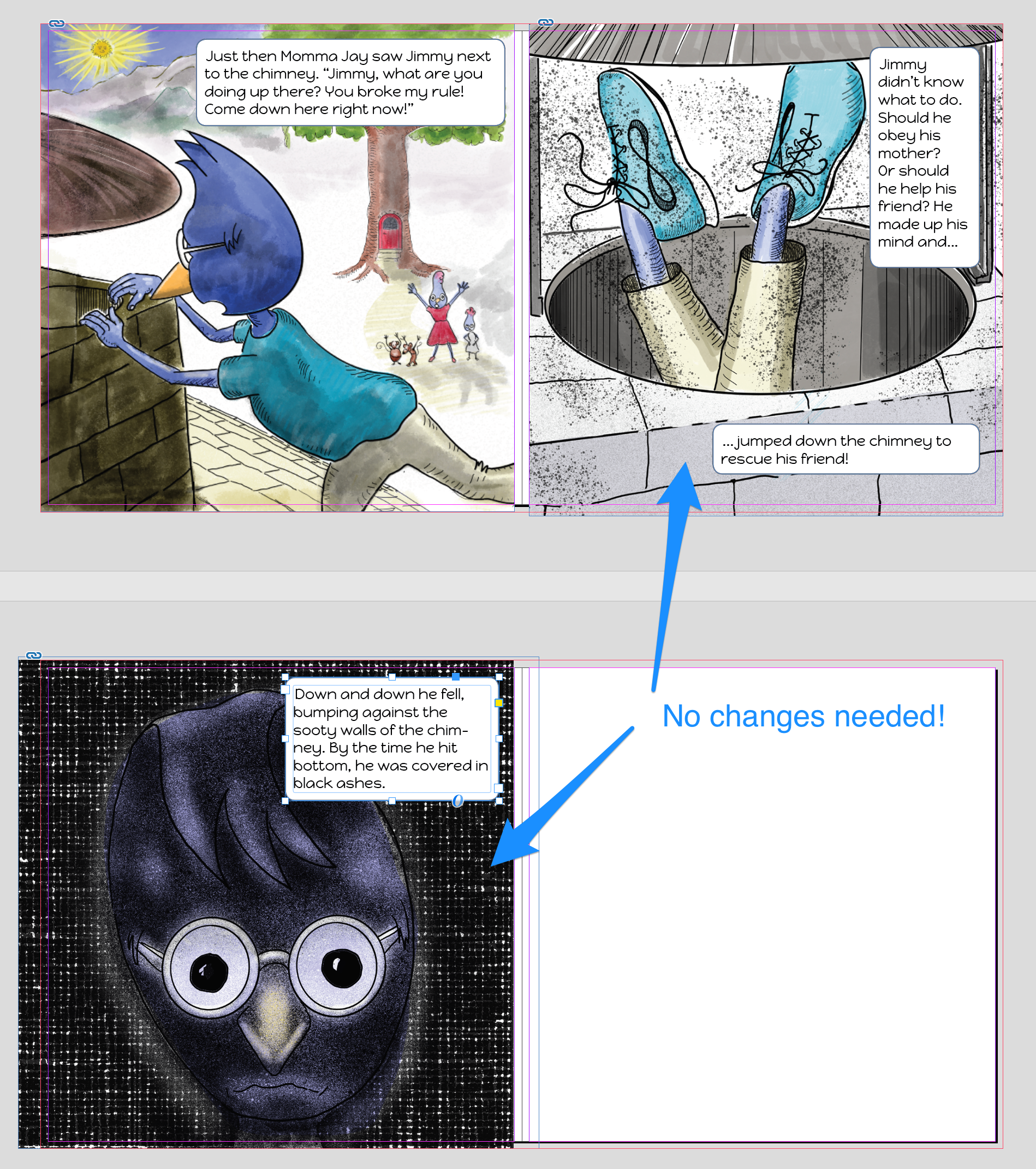 no_changes_needed_blog.png InDesign, images layout, children's picture book
