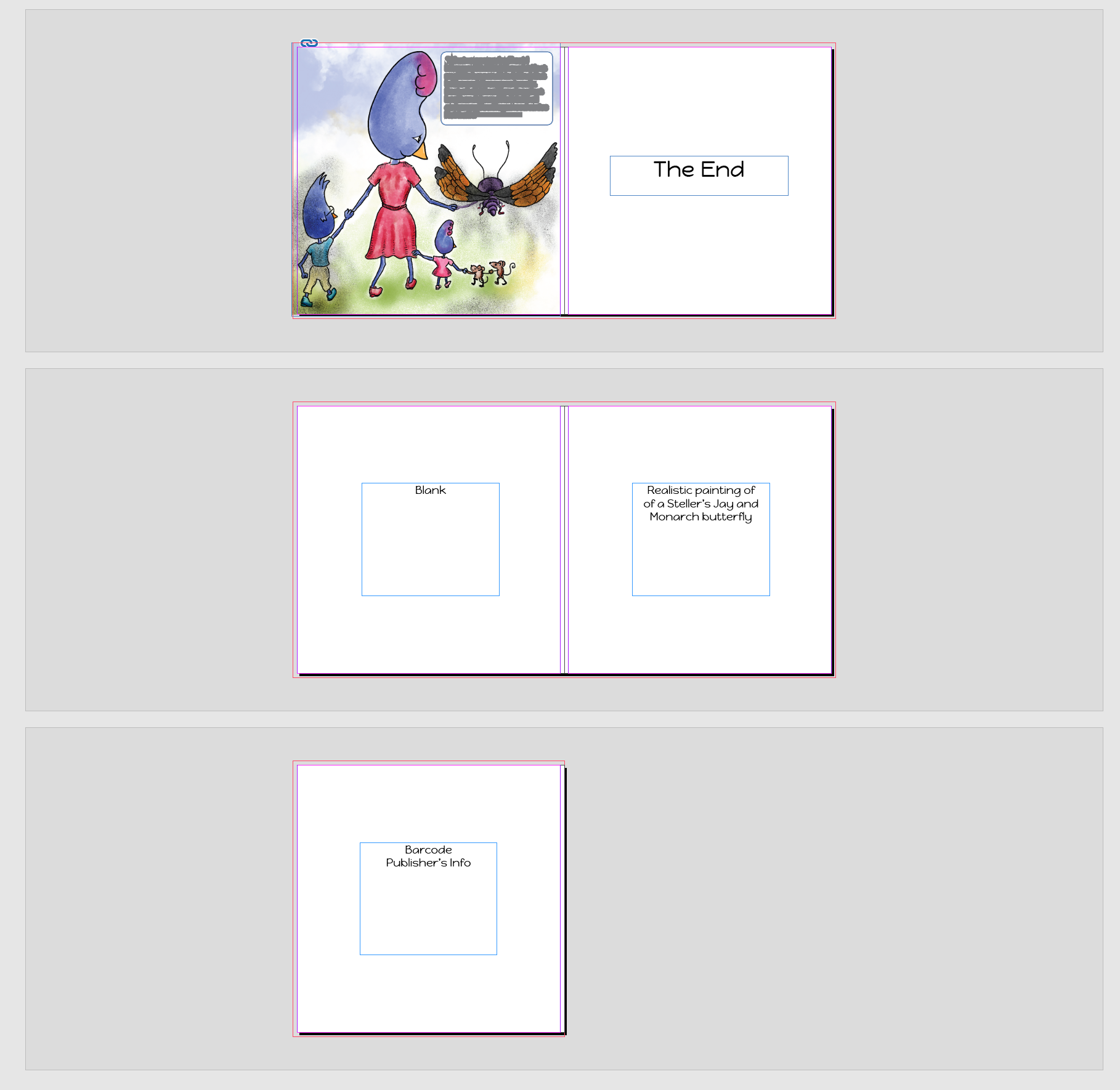 last_5_pages_blog.png front matter, back matter, end pages, InDesign, Children's picture book