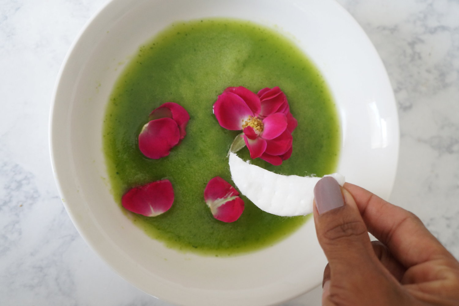 In Search of Our Gardens DIY Cucumber and Rosewater Eye Mask