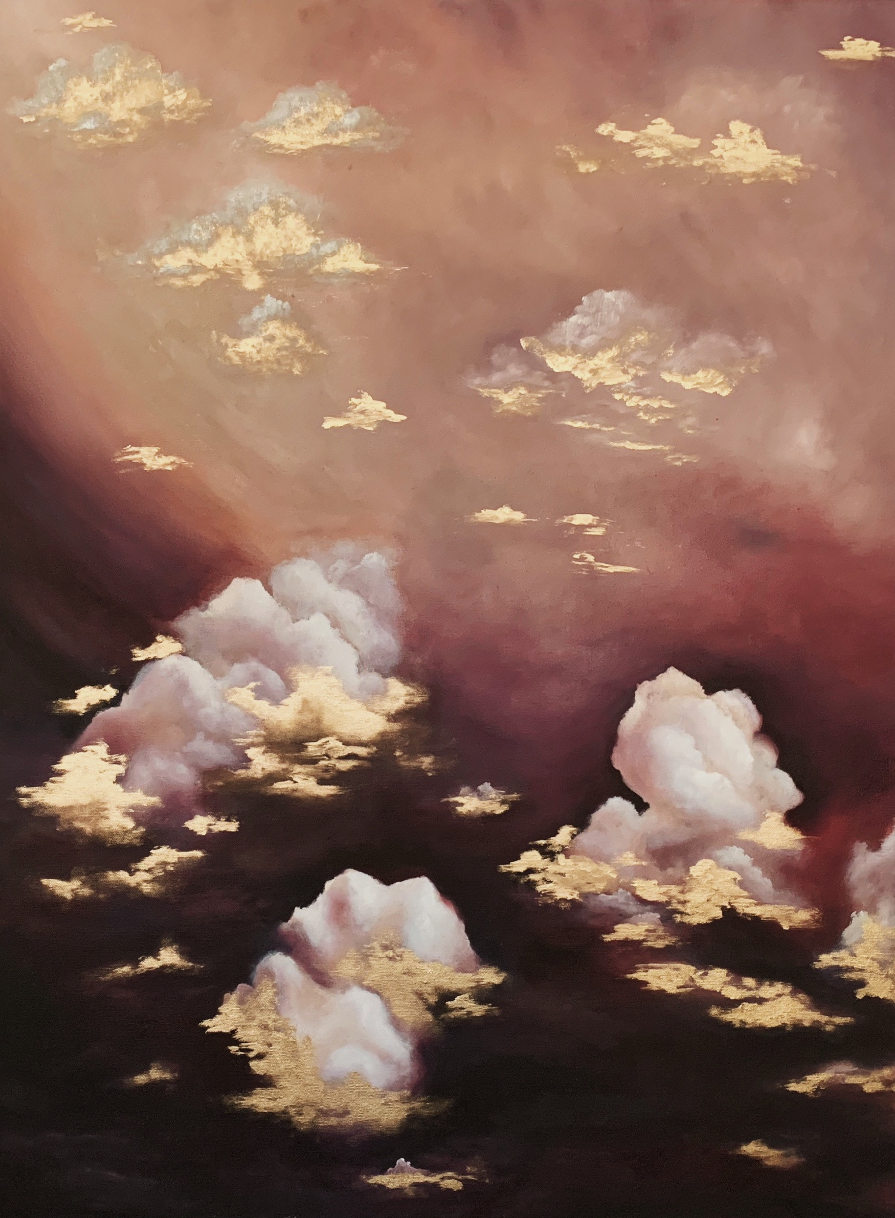 "Cloud #2 - Oil on Canvas30""x40""Semi Gloss FinishAVAILABLE-INQUIRE FOR PRICE"