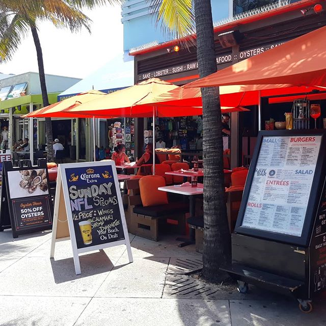 A perfect South Florida beach day! C'mon and hang with us for the games... we've got over 20 TV's, draft, bottle and local Craft beers and the best Sushi in town.