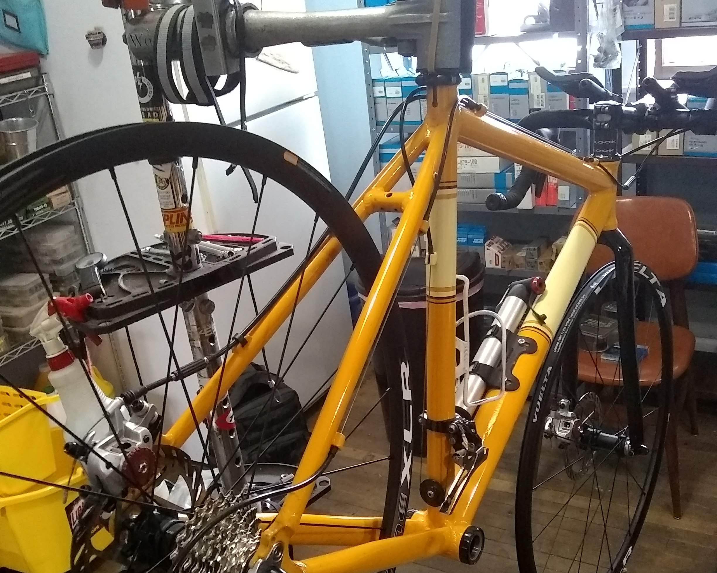 Bike repair - Have your bike repaired by a certified professional. You can get a free online estimate just by filling out this form.