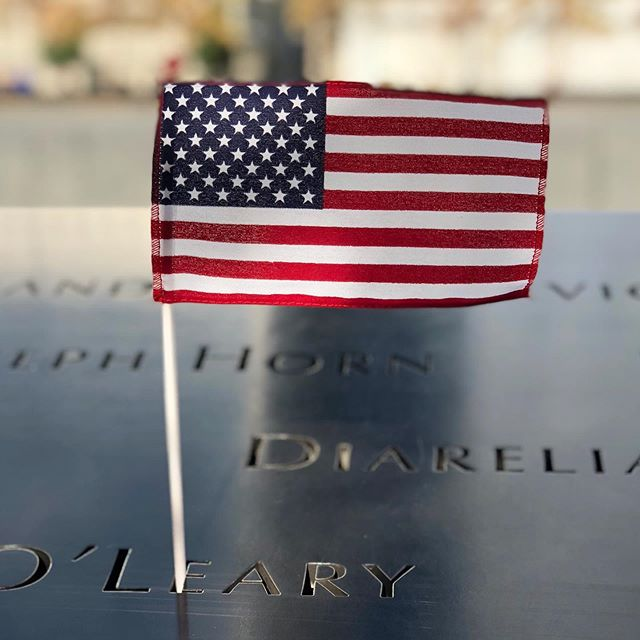 """Today is a good day to remember we have more in common with each other than what separates us."" #neverforget #911memorial #community #unity"