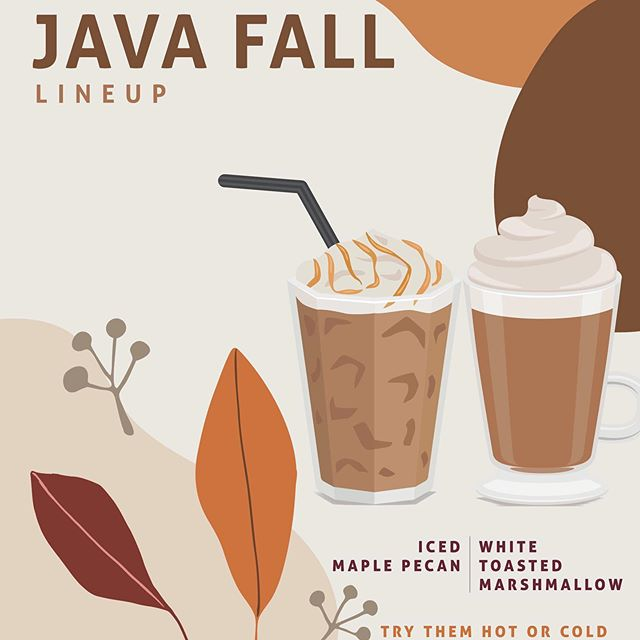 While you can't feel fall yet, you can taste it! We are excited to release our NEW fall line up! Maple Pecan and White Toasted Marshmallow and of course our fall staple, Pumpkin Spice. Pick up a cup of fall today! . . . . . #opelousas #coffeeshop #coffeecommunity #falllineup #falldrinks #javasquare