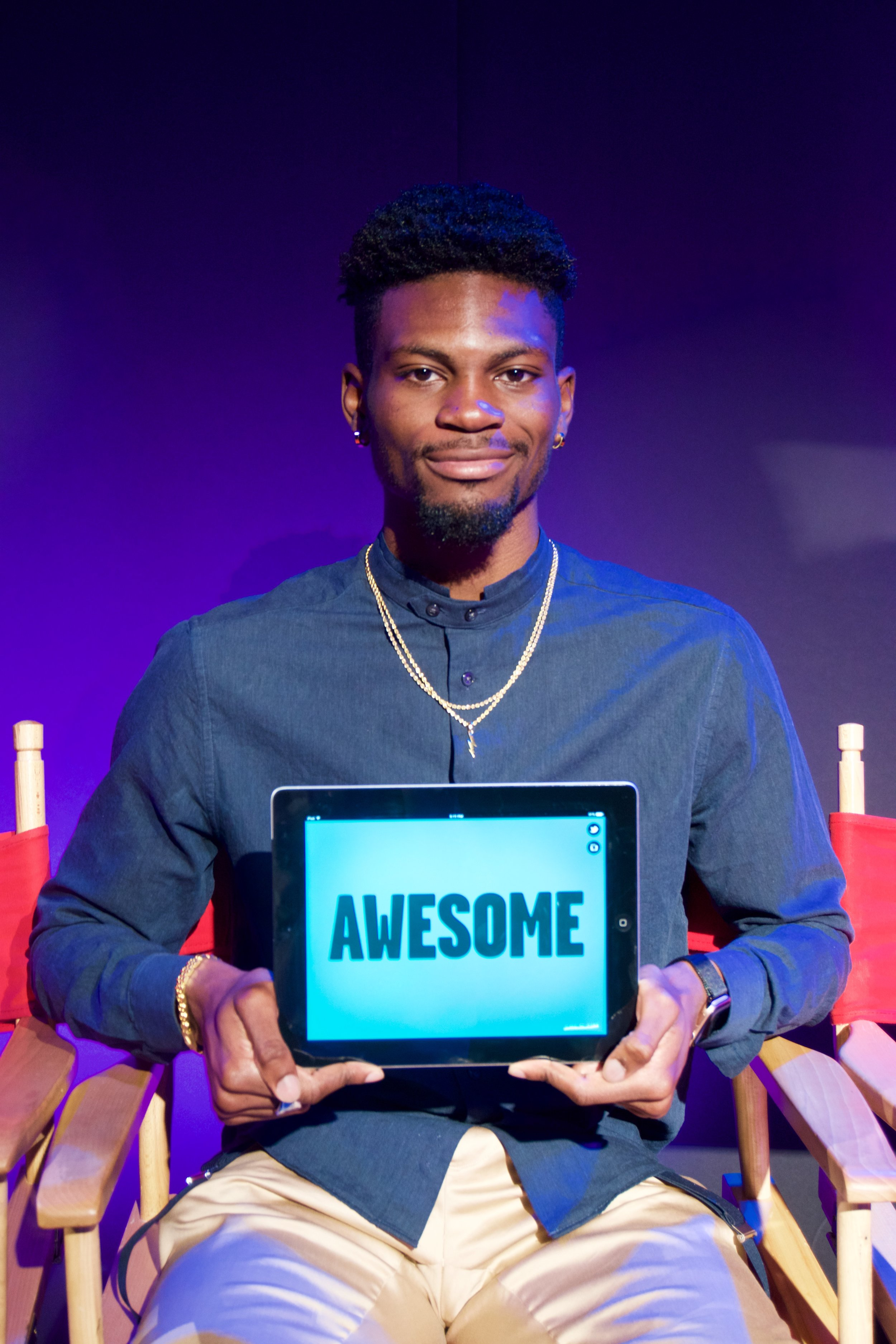 Bolade Ajomale - My name is Bolade Ajomale. I am an Olympic Bronze medallist and an NCAA Champion. I am a judge this year on