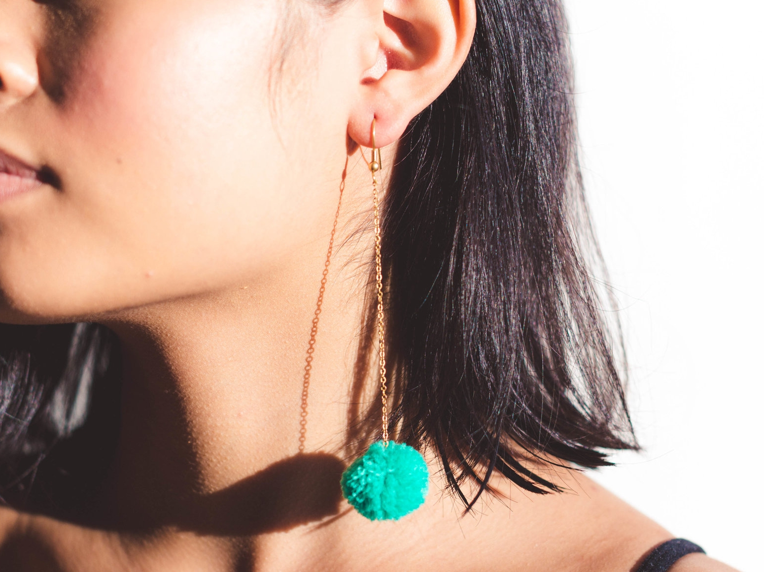 Play hooky. - You asked, we listened. Our favorite Baby Dangles now come with a classic hook, replacing the breakable stud. Now our first ever earrings are more comfy, and just as fun to dance in.