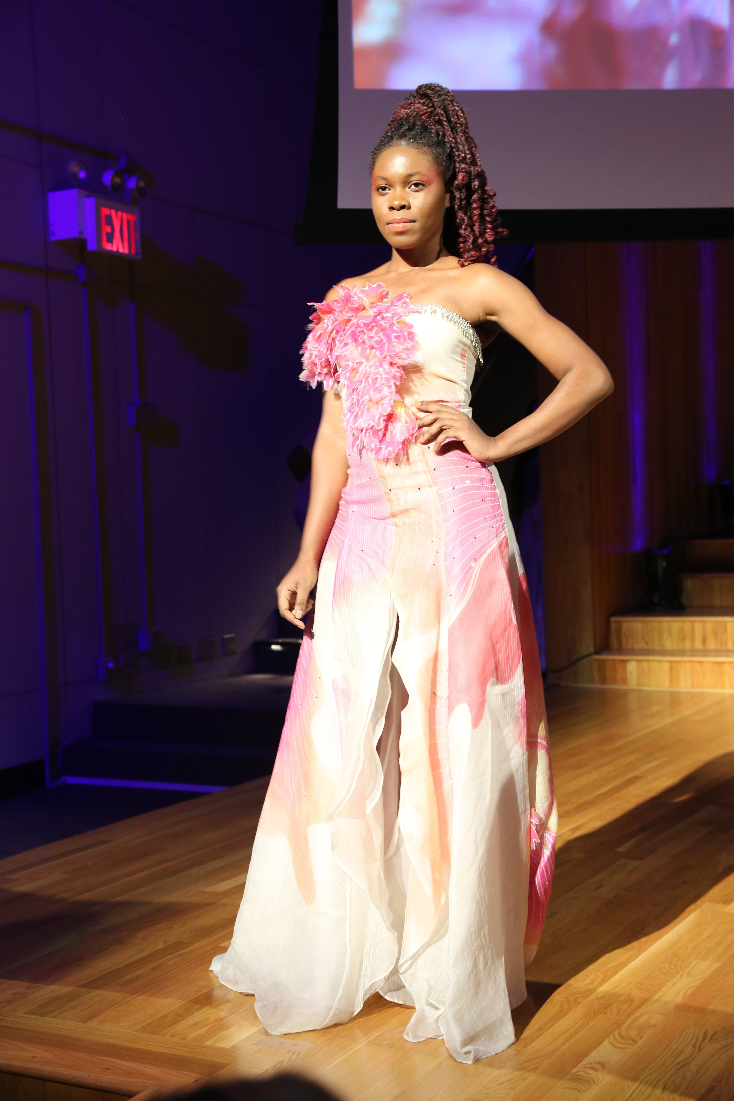 Outfit from Heather Jones, of Trinidad and Tobago