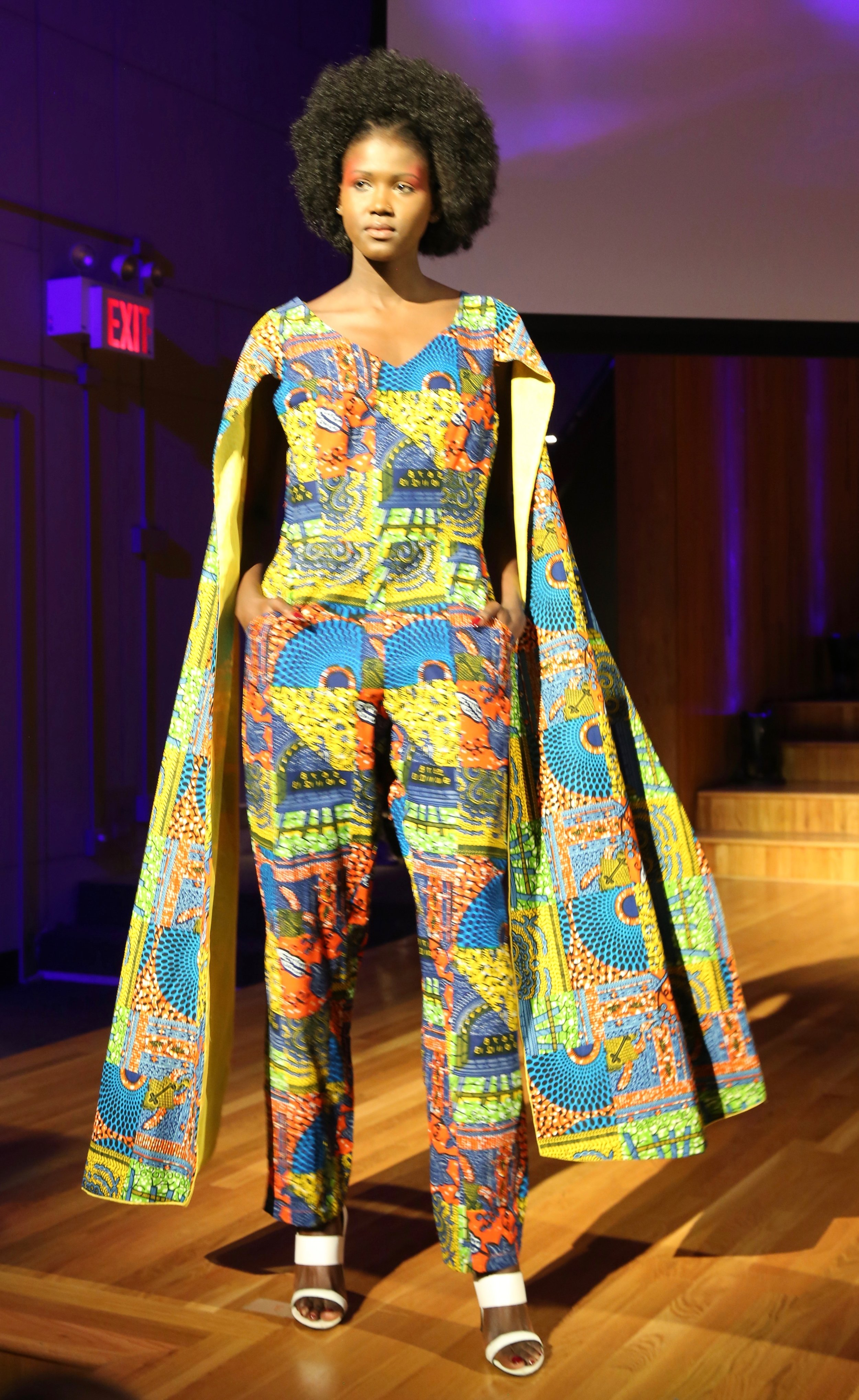 Outfit from Maryland-based Marie Francis Designs, (from TT)
