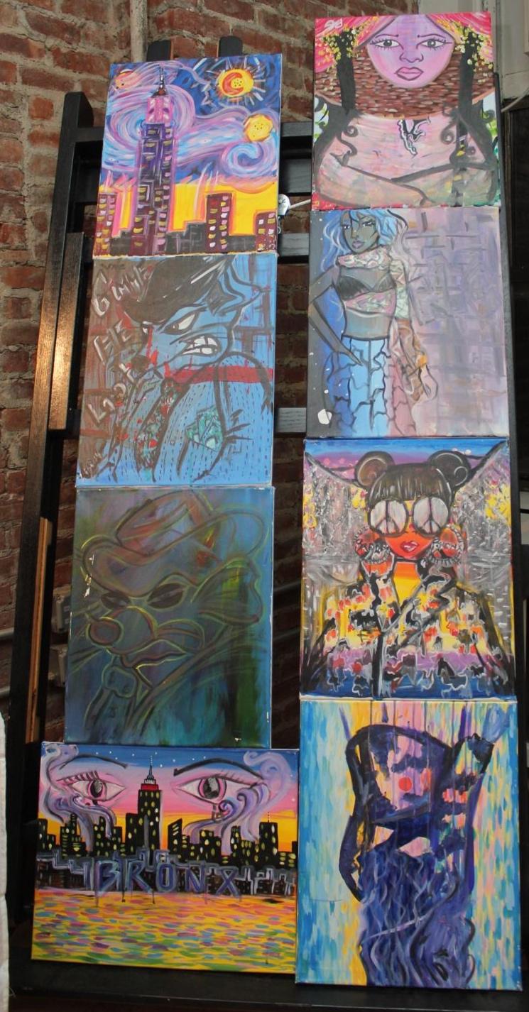 CAFE @ NYFW - Art by Liz, Pineapple GDC NYC