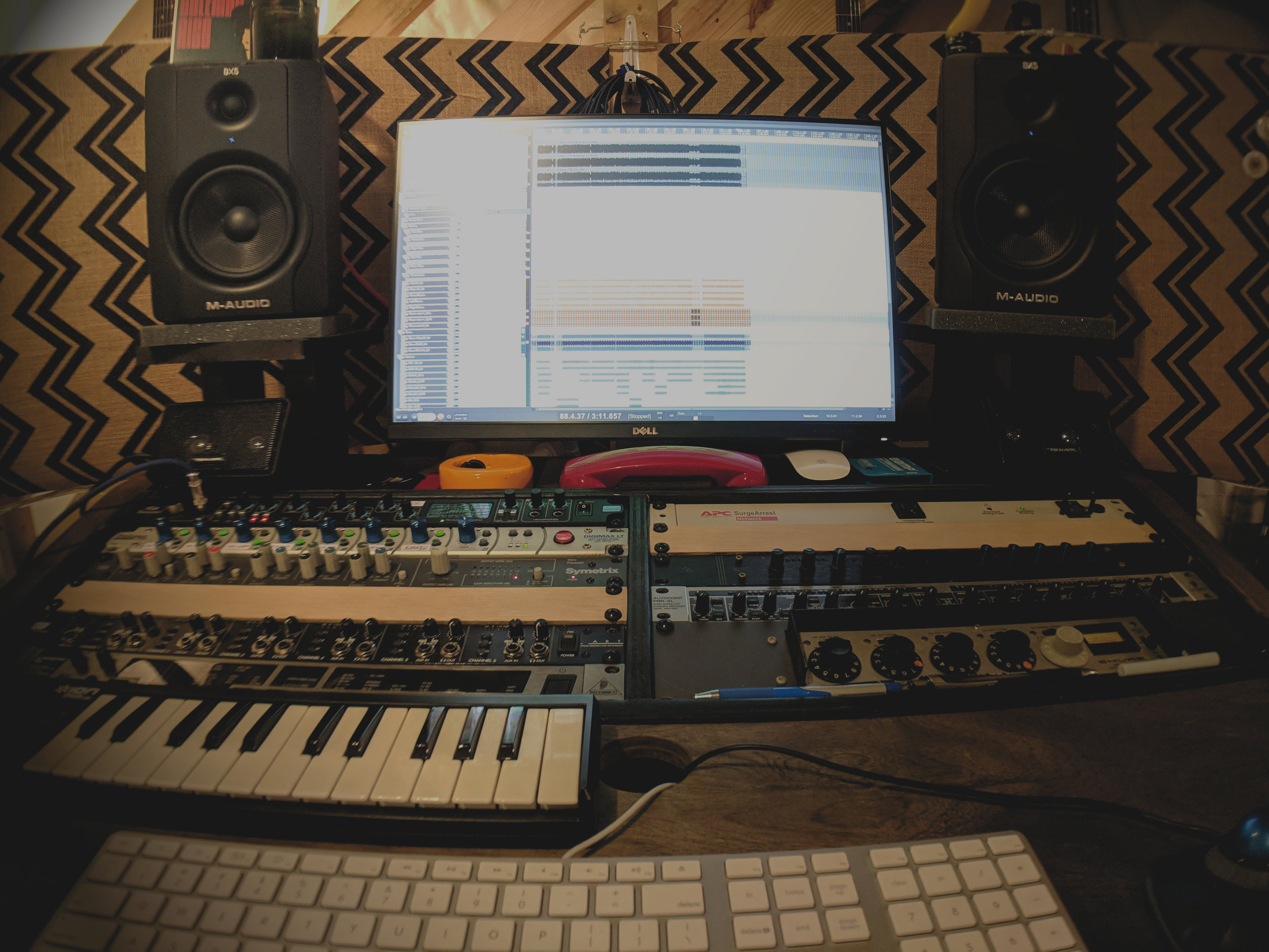 Mixing - Professional mixing services that turn your recorded tracks into clear, cohesive songs.