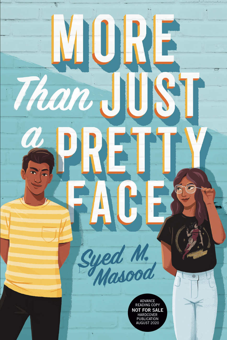 ARC Cover for MORE THAN JUST A PRETTY FACE