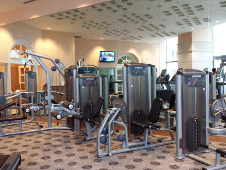 Gym at Naogya Marriott Associa