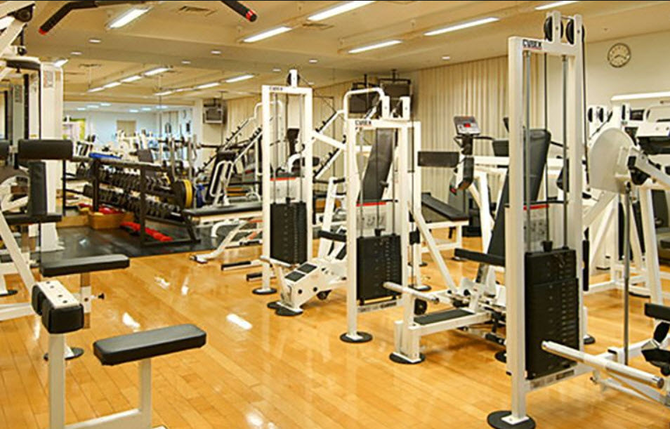 Gym at Grand Hyatt Fukuoka