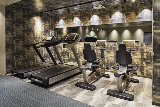 Gym at Akasaka Excel Hotel Tokyo