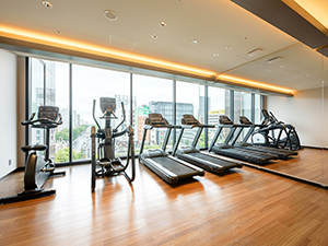 Hotel Metropolitan Sendai East gym