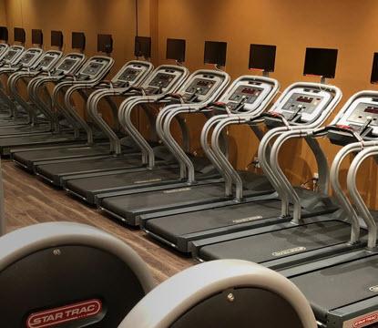 Capsule Hotel Topos gym