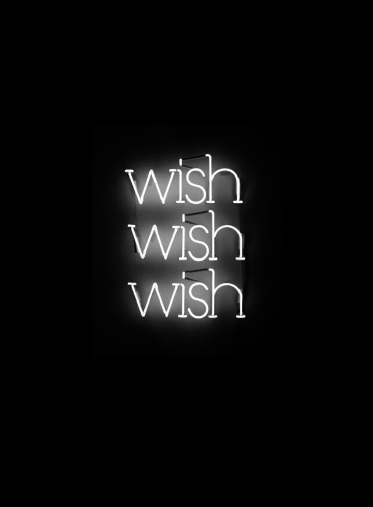 Kristin McIver  Wishlist , 2010 neon 14 x 24 in (35.6 x 61 cm)