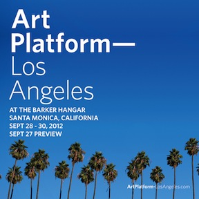 ART PLATFORM LOS ANGELES 2012 - JANE CALLISTER, KENNETH CAPPS, ALEJANDRO DIAZ, KAREN LOFGREN, DAVID ALLAN PETERS, PHILLIP K SMITH IIISEPT 27 - 30