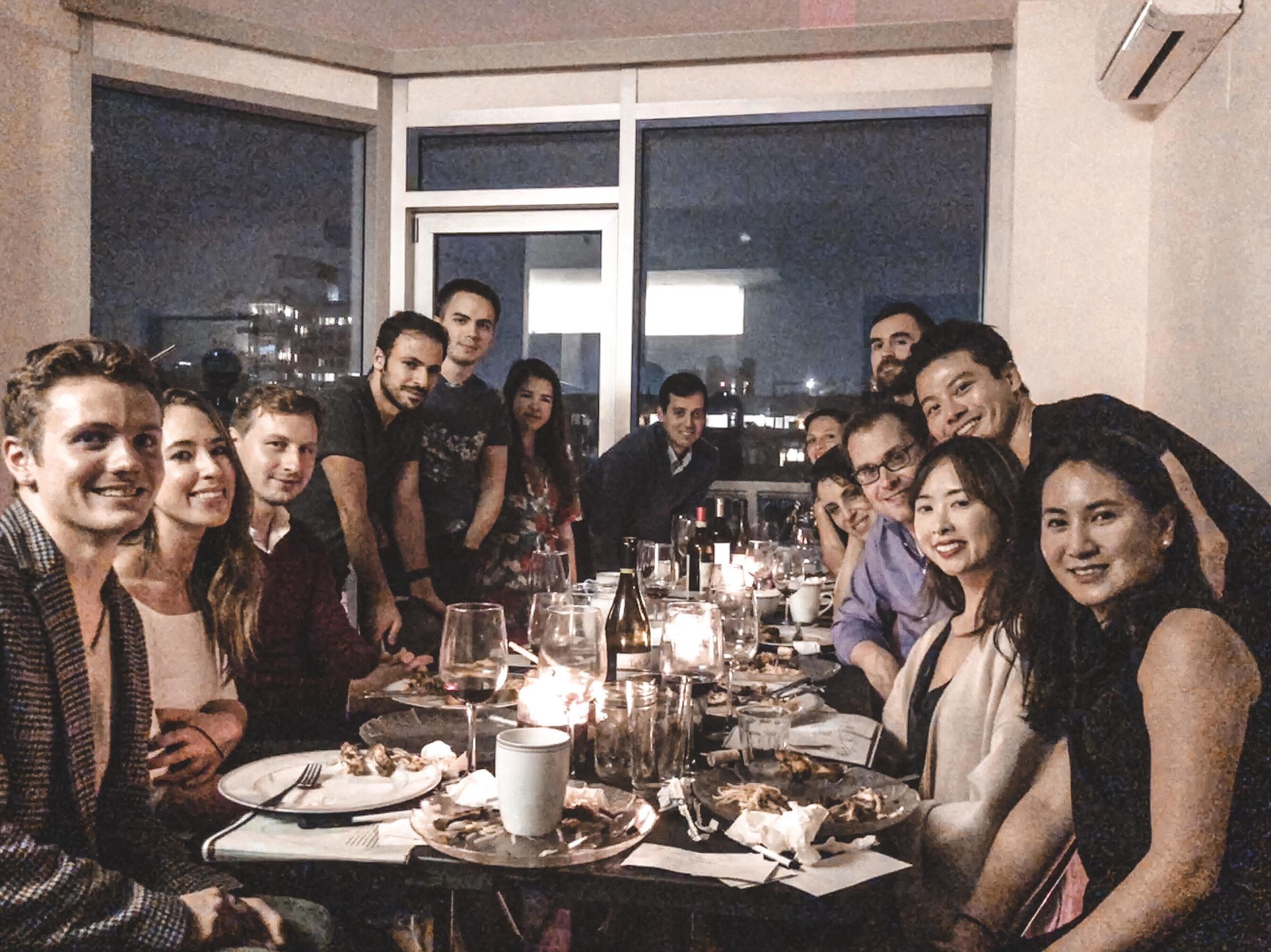 Connect at a 10 NEXUS dinner salon -