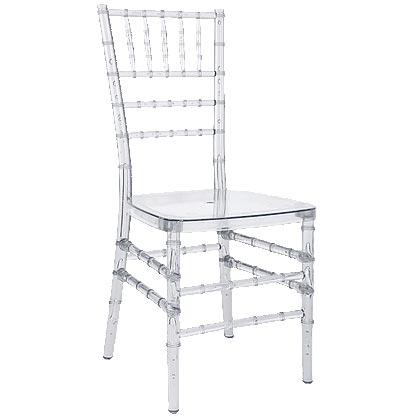 Clear Acrylic Chiavari Chair