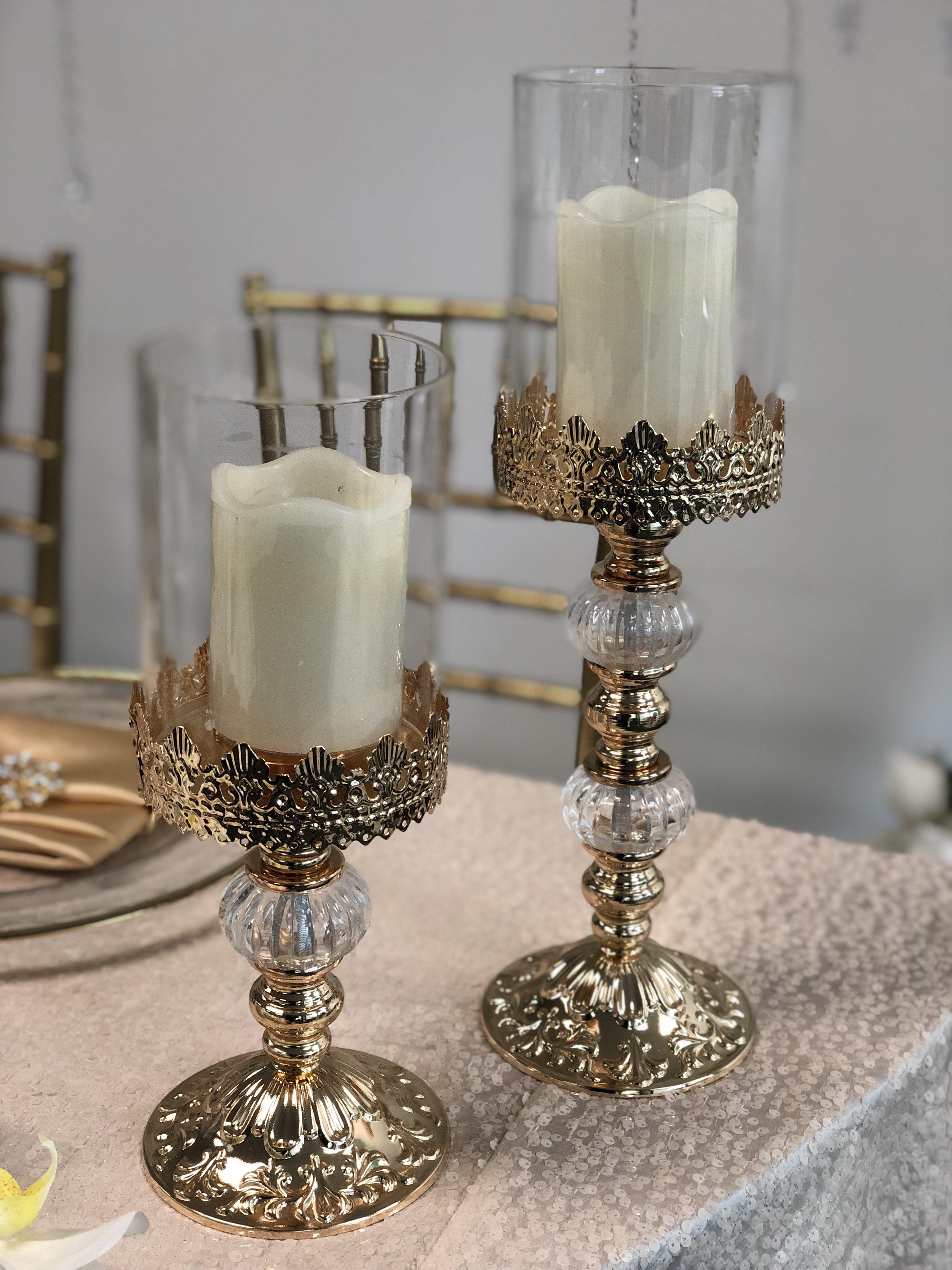 Vintage Candleholders (set of 2)
