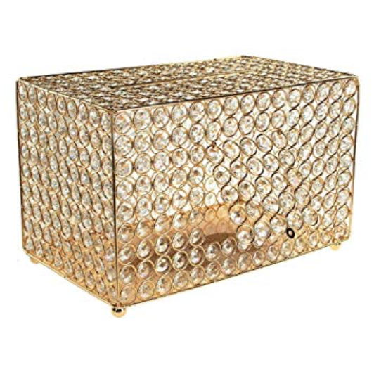 Crystal Gift Box  Gold or Silver available
