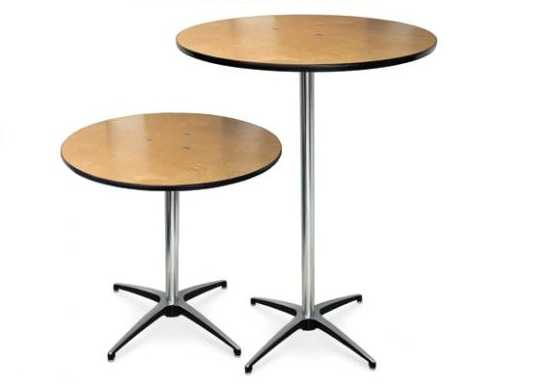 "36"" Tall or Short Cocktail Table"