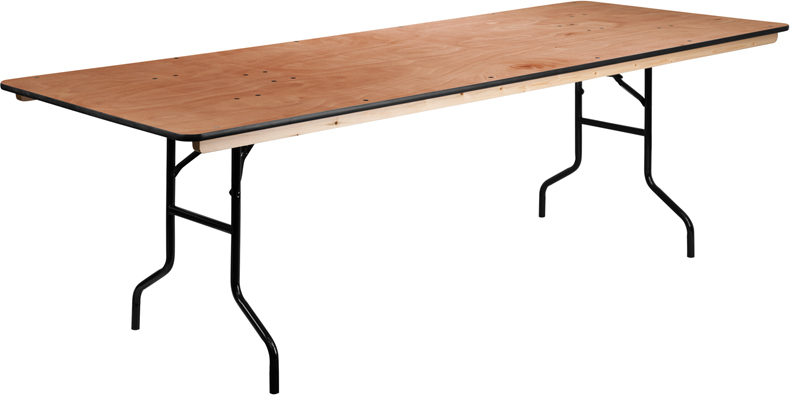 8ft Table (Seats 8-10)