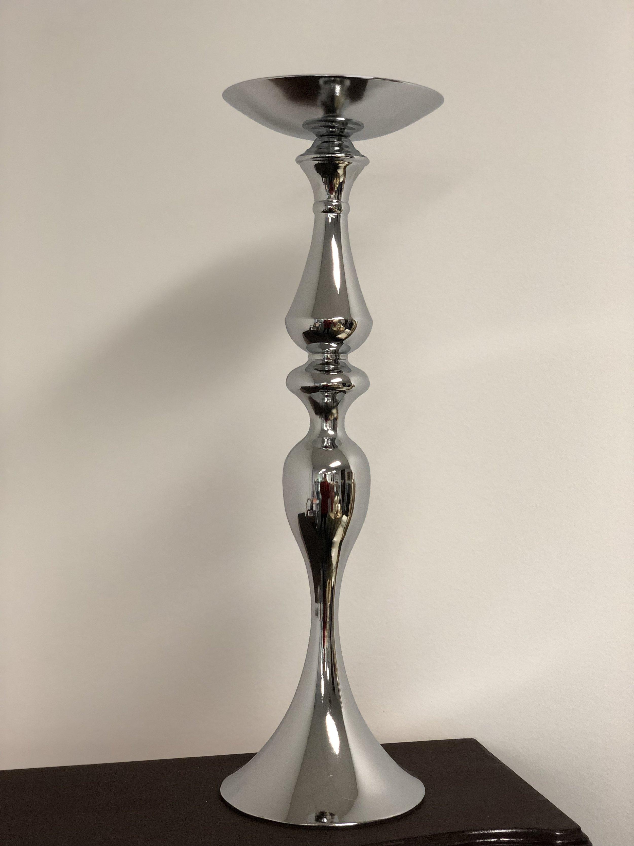 Silver Flower Vase