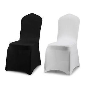 Chair covers: Black, White, or Ivory  (sash color of your choice included)