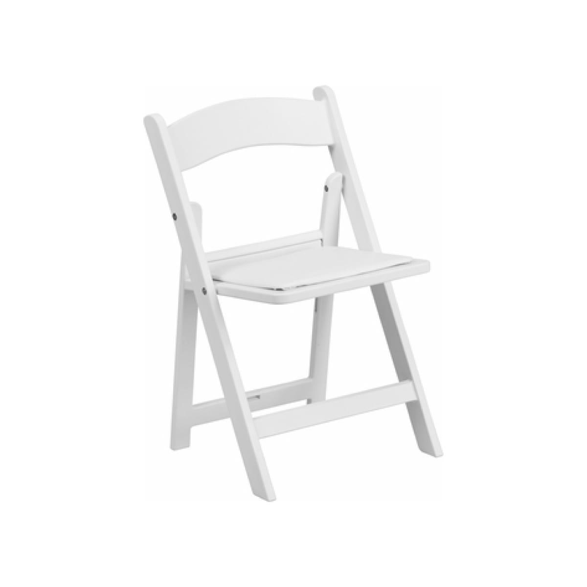 Kid White Resin Chair